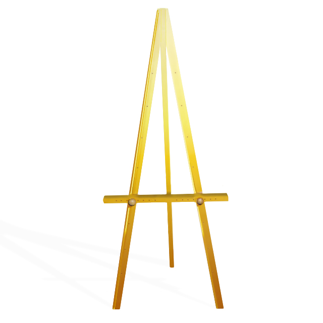 Greco Easel, Gold, 160cm