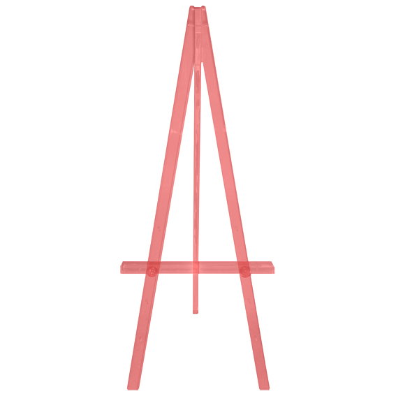 Greco Transparent Easel - Red, 160cm