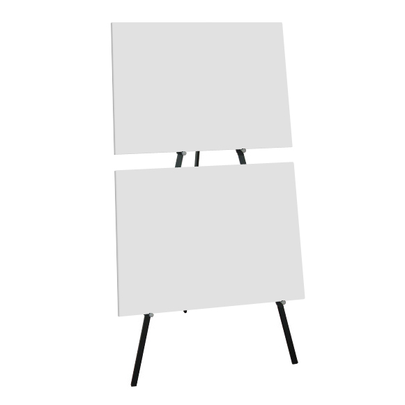 Greco Double Metal Easel - Display 2 Panels