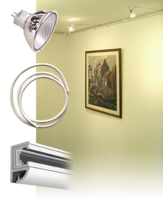 Picture Hanging & Lighting Systems