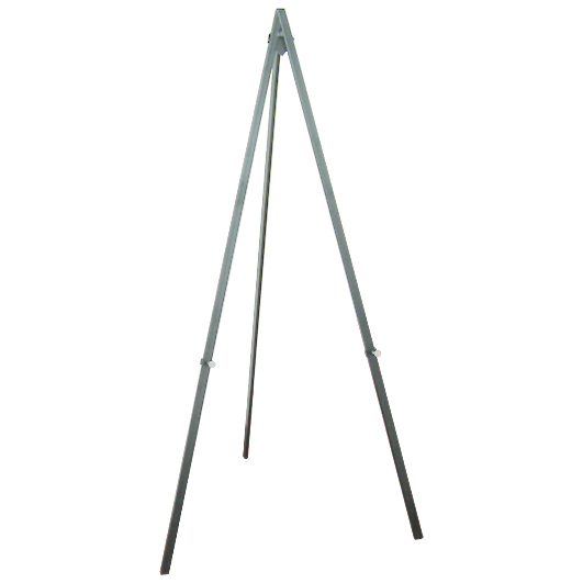 Greco Easel Metal, silver, 160cm