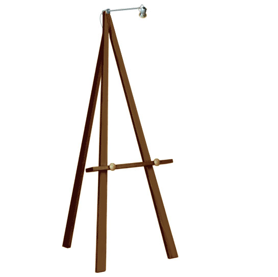 Greco Easel 160cm, with Greco Easel Light