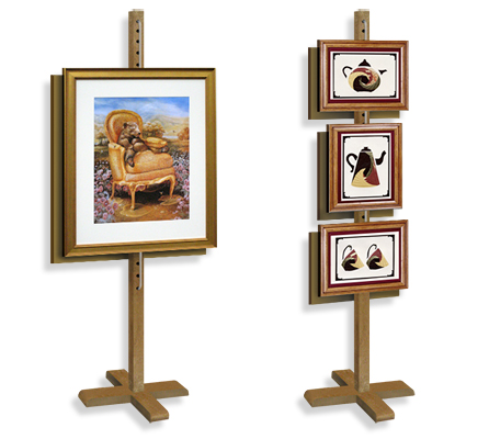Picture Hanging Easel, Wood