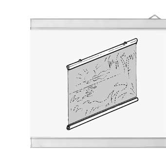 Transparent Poster Hangers