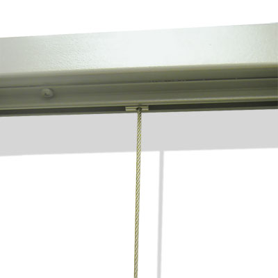 Steel Cable and Tensioner for Display Rack