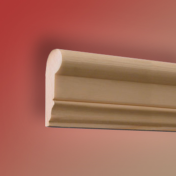 "Traditional Wood Picture Moulding, Rail 2.4m (7ft 10"")"