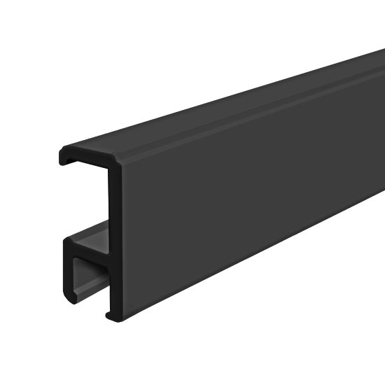 "Clip Rail Smart, Black 2m (6ft 6"")"