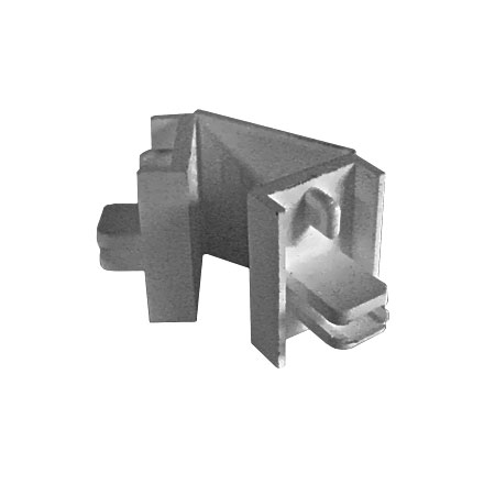 Smart Endpiece/Corner Connector, Silver