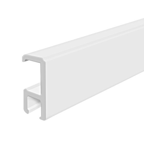 "Clip Rail Smart, White 3m (9ft 10"")"