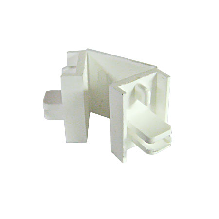 Smart Endpiece/Corner Connector, White
