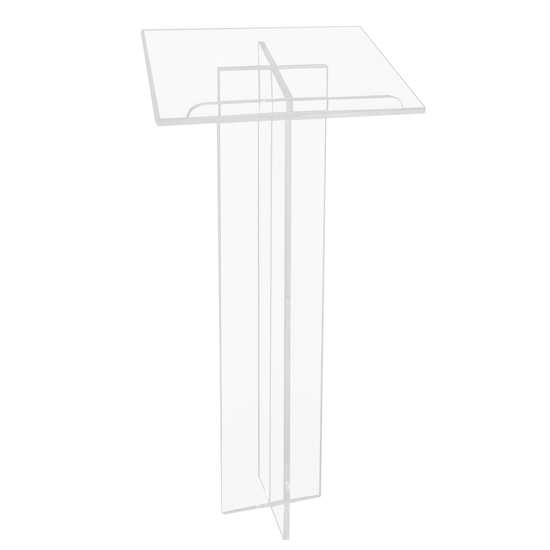 Free-standing lectern, TRANSPARENT