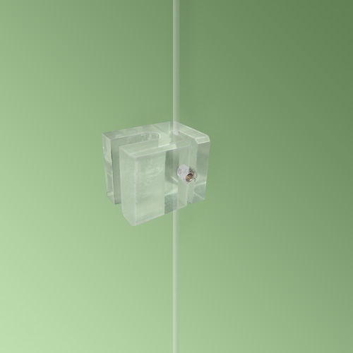 Transparent Panel Support - 24mm