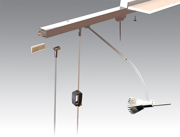 U-Rail Hanging & Lighting System
